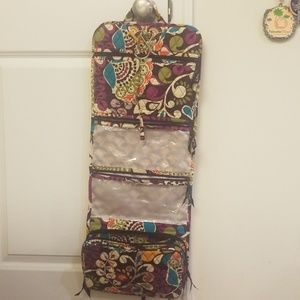 Vera Bradley Hanging Travel Organizer Plum Crazy